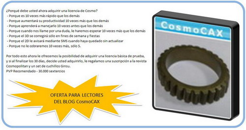 Software cosmocax V2