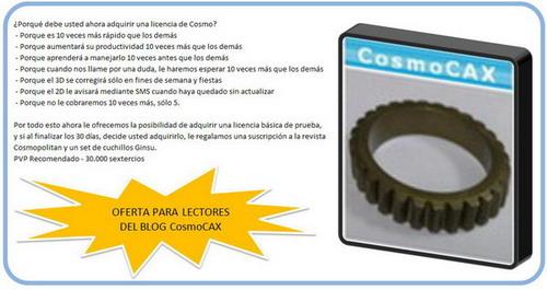Software cosmocax V2