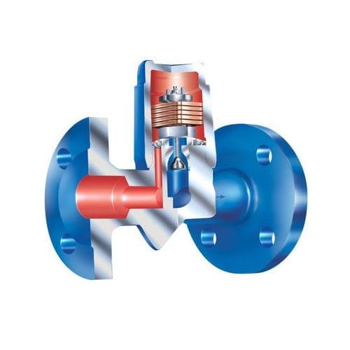 Condensate drain / automatic / mechanical / bimetallic